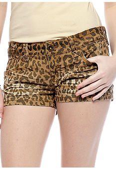 Almost Famous Cheetah Print Short