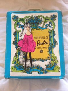 My Barbie case C. 1968 I've kept it all these years!