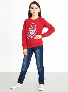 Felpa 100% cotone   #kids #fashionkids #littlewoman #pinterest #pinit #piazzaitalia #wearepeople #glam #jeans #felpa