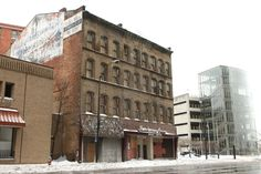 Stanley Block, one of downtown Cleveland's oldest buildings, being ...
