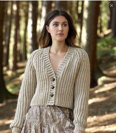 Ravelry: Beda pattern by Kim Hargreaves Knit Fashion, Runway Fashion, Womens Fashion, Rowan Felted Tweed, Cropped Cardigan Sweater, Knitwear, Knitting, Ravelry, Pattern
