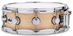 "Drum Workshop 6x14"" Maple Snare Drum w/Satin Oil Finish (Natural)"