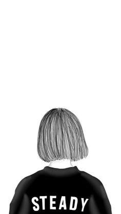 Tumblr Drawings, Tumblr Art, Cute Tumblr Wallpaper, Cute Wallpapers, Outline Drawings, Cute Drawings, Shadow Photography, Artsy Photos, Sad Art