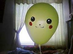 """Résultat de recherche d'images pour """"pikachu balloon"""""""