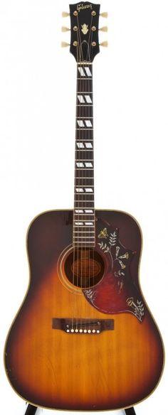 1968 Gibson Hummingbird Sunburst