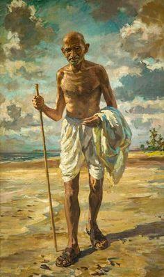 Mk Gandhi, Gandhi Quotes, Wisdom Quotes, Mahatma Gandhi Photos, Freedom Fighters Of India, Celebridades Fashion, History Of India, History Photos, Indian Art Paintings