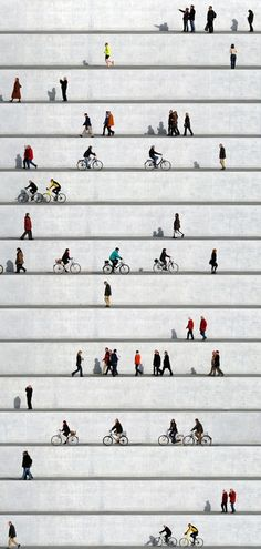 "Saatchi Online Artist: Eka Sharashidze; C-Type, Photography ""wall people no. 8 (Limited Edition 1/6)"""
