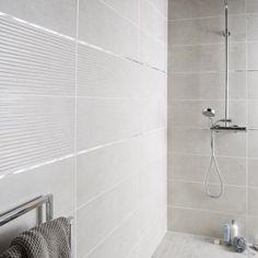Faïence mur blanc mineral, Live l.24 x L.69 cm