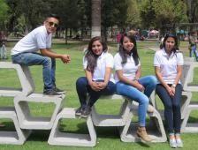 Unacem reconoció el #mobiliario urbano de corte estudiantil