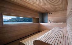 The Emilia suite at Grand Hotel Tremezzo is a private escape with views of Lake Como at every turn. Sauna Steam Room, Sauna Room, Mini Sauna, Lake Como Hotels, Sauna Seca, Sauna House, Outdoor Sauna, Sauna Design, Most Luxurious Hotels