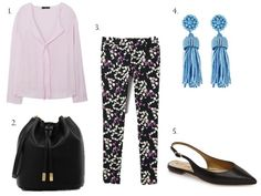 3 Ways to Wear Printed Pants | www.eatshoplivenyc.com