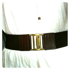 Selling this Dark brown belt in my Poshmark closet! My username is: amarceen. #shopmycloset #poshmark #fashion #shopping #style #forsale #Forever 21 #Accessories