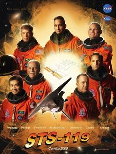 STS-119 Crew poster