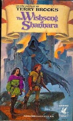 The Wishsong of Shannara by Terry Brooks - The excellent 3rd novel in the original Shannara trilogy.