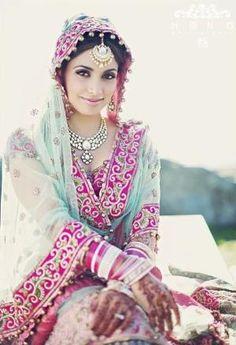bridal lehenga by kaye