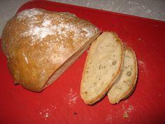 home-made rustic Czech bread / www.czechmatediary.com image