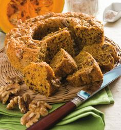 Pumpkin Recipes, Fall Recipes, New Recipes, Healthy Recipes, Healthy Cake, Vegan Cake, Bakery Cakes, Breakfast Cake, Daily Meals
