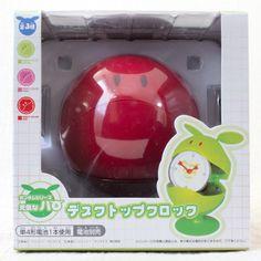 ガンダムシリーズ 元気なハロ デスクトップクロック レッドver.