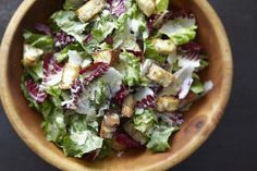 Chicory Salad with Anchovy Dressing | The Splendid Table