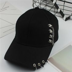 7f26be3fe04b0 2018 Baseball Cap BTS Casual Solid Adjustable Iron Ring Baseball Caps  Snapback Cap Casquette Hats Fitted Casual Gorras Dad Hats