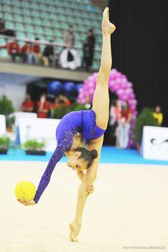 Eleonora Romanova Rhythmic Gymnastics costume inspiration for Sk8 Gr8 Designs