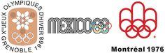 Logos Juegos Olimpicos 1976-1968-1968_2