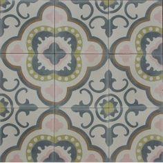 Marrakech design - love their tiles! Wall Patterns, Textures Patterns, Moroccan Art, Pink Tiles, Encaustic Tile, Vintage Tile, Style Tile, Room Accessories, Marrakech
