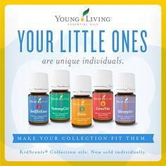 Young Living Kid Scents Essential Oils are now available for individual sale!
