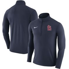 St. Louis Cardinals Nike Element Half-Zip Performance Top - Navy - $69.99