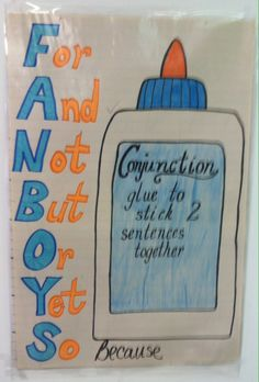 First grade ELA common core. Conjunctions
