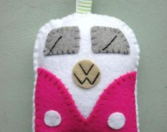 Adornos de VW Camper regalo VW Camper / juguetes  por GracesFavours