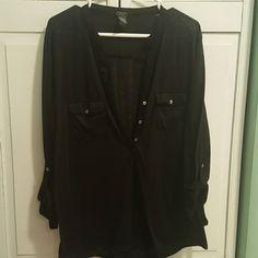 Deb Henley Shirt Worn once. Deb Tops Tees - Long Sleeve