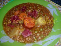 La cocina de Camilni: Lentejas a mi manera en olla GM