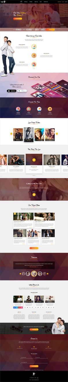 Themeforest dating mall