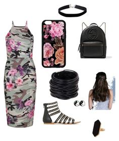 """""""Untitled #14"""" by cassandra-moats on Polyvore featuring New Look, Gucci, Saachi, Jaeger and Miss Selfridge"""