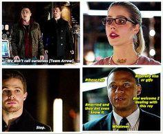 Arrow - Roy, Diggle, Oliver & Felicity #2.12 #Season2