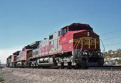 https://flic.kr/p/CtNo2g   Atchison, Topeka & Santa Fe GE C-44-9W 644   Oro Grande, California