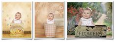 7 Easter Portrait Ideas Using Digital Backgrounds And Photo Props