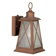 You'll love the Flemings 1-Light Outdoor Wall Lantern at Birch Lane - With Great Deals on all products and Free Shipping on most stuff, even the big stuff.