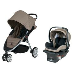 Britax B-Agile Travel System. Love this for traveling.