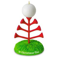 O Christmas Tee Golf Ornament