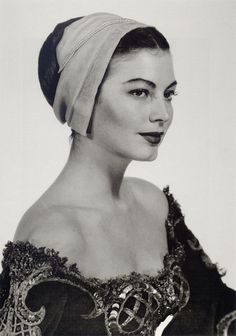 Ava Gardner, 1950 (photo by Man Ray)