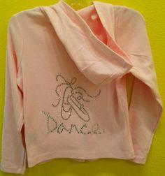 Dance hoody by frivolous apparel