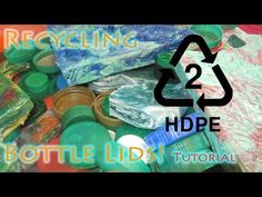 How To Recycle HDPE Bottle Lids Into Flawless Flat Sheet Material - Best Results - YouTube