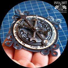 ISA'sART: TAG ART - BONJOUR (steampunk)