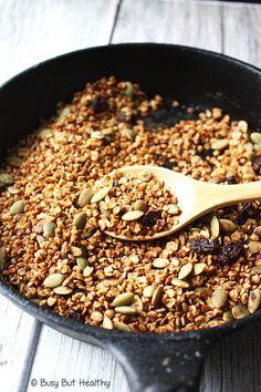 15 Minute Pumpkin Spice Skillet Granola_4