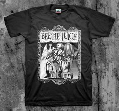 BEETLEJUICE - 'Cover' Movie T Shirt (Classic 80's Cult Comedy Horror)  | eBay