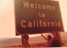 Welcome to California #roadtrip