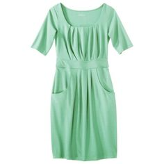 Merona Womens Ponte Scoop Neck Dress wPockets - Assorted Colors