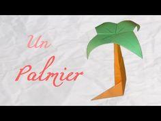 Origami ! Un palmier de bureau - palm of desk [ HD ] - YouTube